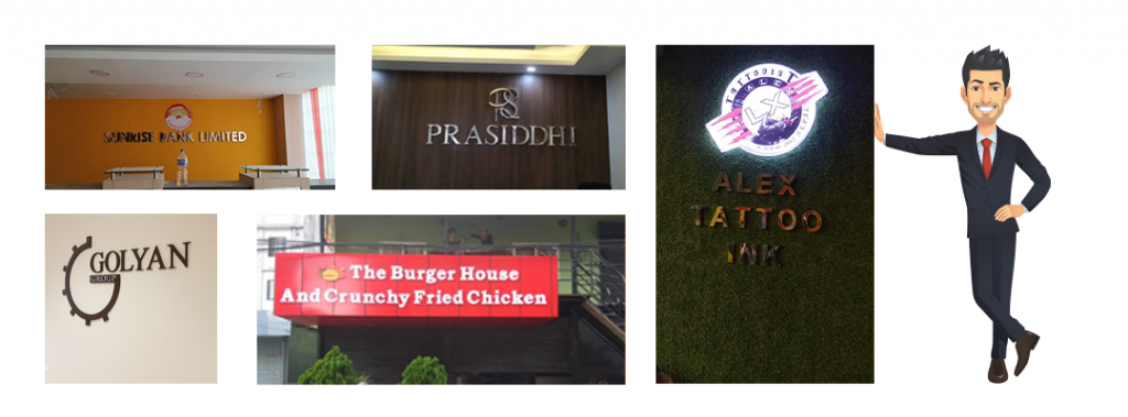 Signage Services Nepal