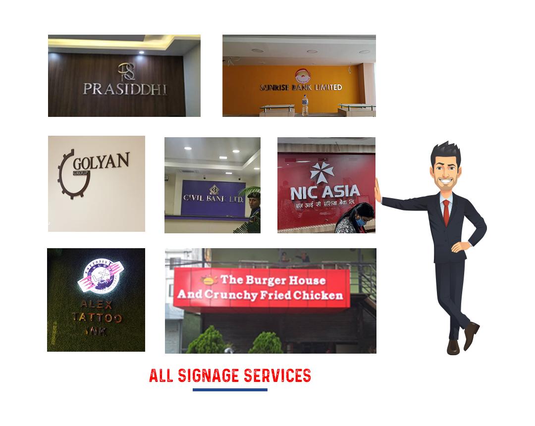 signage service